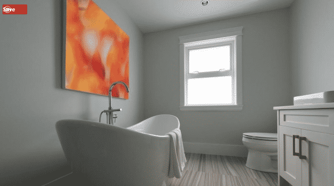 ديكور حمام جريئ 2020